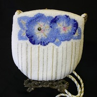 Phase III Bead Embroidery POPPY POUCH